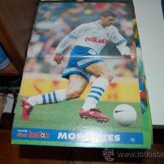 Coleccionismo deportivo: REAL ZARAGOZA: PÓSTER DE FERNANDO MORIENTES. 1996. Lote 38315528