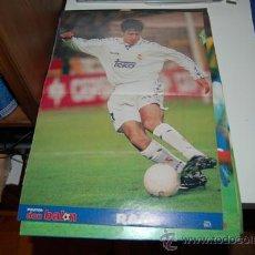 Coleccionismo deportivo: REAL MADRID: PÓSTER DE RAÚL. 1997. Lote 38315558