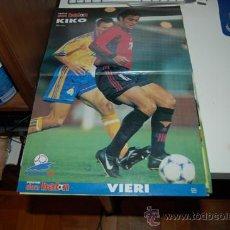 Coleccionismo deportivo: SELECCION ESPAÑOLA DE FÚTBOL: PÓSTER DE KIKO NARVÁEZ. 1997. Lote 38315610