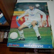 Coleccionismo deportivo: REAL MADRID: PÓSTER DE PEDJA MIJATOVIC. 1998. Lote 38315654