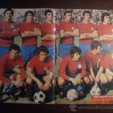 Coleccionismo deportivo: POSTER AS COLOR 138 - UD SALAMANCA 1973-74. Lote 38487437