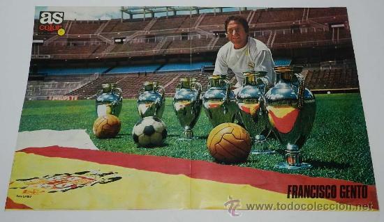 poster as color de futbol, francisco gento, con - Comprar Carteles ...