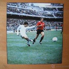 Coleccionismo deportivo: RECORTE AS COLOR. JUANITO. REAL MADRID. AÑOS 70' . . Lote 100876756