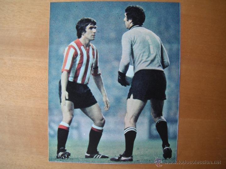 RECORTE DON BALON. DANI Y ZOFF.FINAL COPA UEFA 1977 ATH.BILBAO-JUVENTUS. (Coleccionismo Deportivo - Carteles de Fútbol)