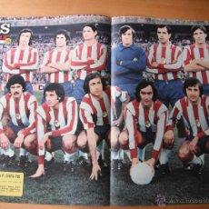 Coleccionismo deportivo: POSTER AS COLOR Nº 256 . GRANADA C.F. 1975-76.. Lote 39456342