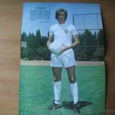 Coleccionismo deportivo: POSTER DANI (VALENCIA C.F.) AÑOS 80'.. Lote 39775185