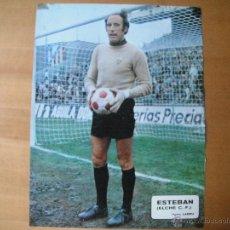 Coleccionismo deportivo: POSTER AS COLOR 1/2 PAGINA. ESTEBAN (ELCHE C.F.). AÑOS 70'.. Lote 39776169