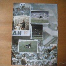 Coleccionismo deportivo: POSTER AS COLOR 1/2 PAGINA. REINA (AT.MADRID). AÑOS 70'.. Lote 39776780