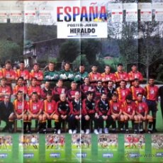 Coleccionismo deportivo: POSTER SELECCION ESPAÑOLA FUTBOL MUNDIAL USA 94 WORLD CUP FOOTBALL. Lote 31886507