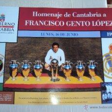 Coleccionismo deportivo: REAL MADRID. CARTELES HISTORICOS. 32 COMPLETO.. Lote 40182342