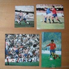 Coleccionismo deportivo: 4 RECORTES AS COLOR. GARATE (SELECCION Y AT. MADRID). AÑOS 70. Lote 40680876