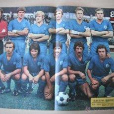 Coleccionismo deportivo: POSTER AS COLOR Nº 275. CLUB GETAFE DEPORTIVO. 1976/77. Lote 40825024
