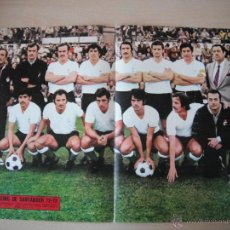 Coleccionismo deportivo: POSTER AS COLOR Nº 74. RACING DE SANTANDER. 1972/73.. Lote 40830786