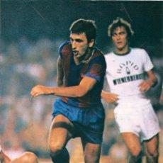 Coleccionismo deportivo: BARÇA: MINIPÓSTER DE HANSI KRANKL. FINALES DE LOS AÑOS 70. Lote 40912679