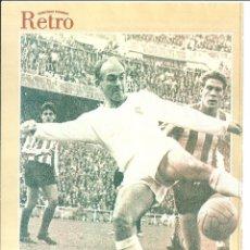 Coleccionismo deportivo: REAL MADRID: MINIPÓSTER DE ALFREDO DI STEFANO. Lote 40912852