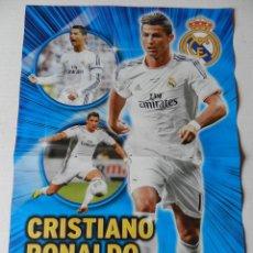 Coleccionismo deportivo: POSTER CRISTIANO RONALDO (REAL MADRID) 2013/2014 - LIGA FUTBOL 13/14 REVISTA JUGON. Lote 183020468