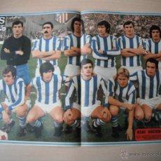 Coleccionismo deportivo: POSTER AS COLOR Nº 127. REAL SOCIEDAD. AÑO 73/74.. Lote 41755310