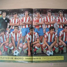 Coleccionismo deportivo: POSTER AS COLOR Nº 59. AT.MADRID. CAMPEON DE COPA 71/72.. Lote 41755914