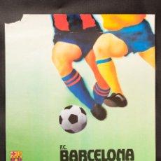 Coleccionismo deportivo: CARTEL DE F.C. BARCELONA-LOKOMOTIVE, RECOPA DE EUROPA CUARTOS DE FINAL. Lote 42041275