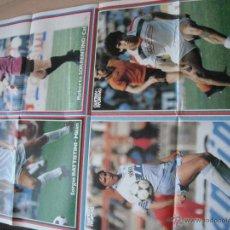 Coleccionismo deportivo: POSTER GUERIN SPORTIVO. BATTISTINI.SORRENTINO.GIORDANO Y VIALLI. AÑOS 80. Lote 42433604
