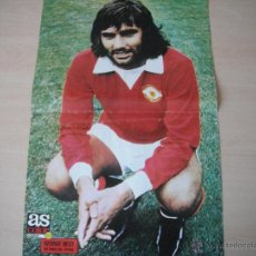 Coleccionismo deportivo: POSTER AS COLOR Nº 81. GEORGE BEST (MANCHESTER UTD.) AÑOS 70.. Lote 42434061