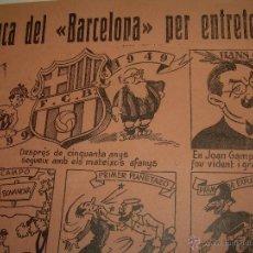 Coleccionismo deportivo: AUCA......F.C. BARCELONA.....50 ANIVERSARIO.......1899 - 1949.. Lote 42473887