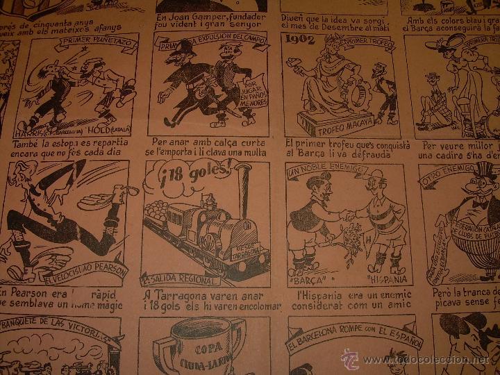 Coleccionismo deportivo: AUCA......F.C. BARCELONA.....50 ANIVERSARIO.......1899 - 1949. - Foto 5 - 42473887