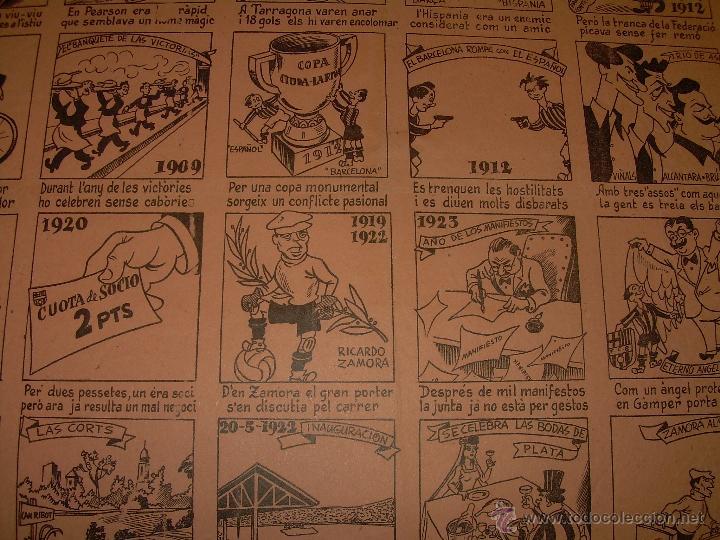 Coleccionismo deportivo: AUCA......F.C. BARCELONA.....50 ANIVERSARIO.......1899 - 1949. - Foto 6 - 42473887