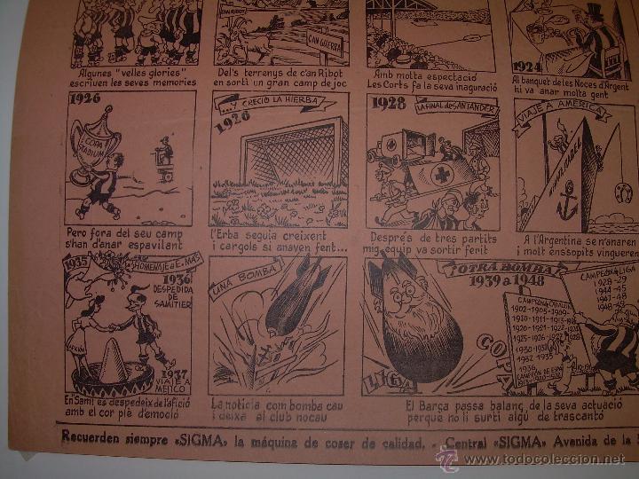 Coleccionismo deportivo: AUCA......F.C. BARCELONA.....50 ANIVERSARIO.......1899 - 1949. - Foto 7 - 42473887