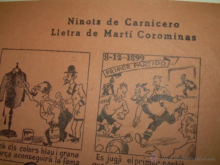 Coleccionismo deportivo: AUCA......F.C. BARCELONA.....50 ANIVERSARIO.......1899 - 1949. - Foto 9 - 42473887