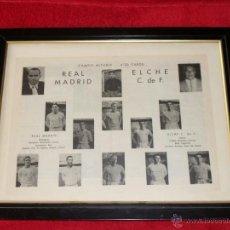 Coleccionismo deportivo: REAL MADRID - ELCHE C.F. CAMPO DE FUTBOL ALTABIX SACADO DE UN BOLETIN INFORMATIVO DEL AÑO 1959. Lote 42665147