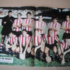 Coleccionismo deportivo: POSTER AS COLOR Nº 8. ATH.BILBAO .AÑO 1970/71´.. Lote 42676970