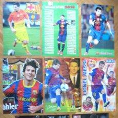 Coleccionismo deportivo: LOTE LOT 8 POSTERS MESSI FC BARCELONA ARGENTINA. DIFERENTES. APROX 42X30 CM NEWS. Lote 42770968