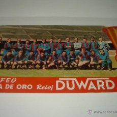Coleccionismo deportivo: TROFEO COPA DE ORO RELOJ DUWARD....1958 - 59....F.C. BARCELONA.. Lote 43287741