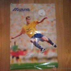 Coleccionismo deportivo: POSTER RIVALDO - MIZUNO - BARCELONA - BARÇA - BRASIL. Lote 43381689