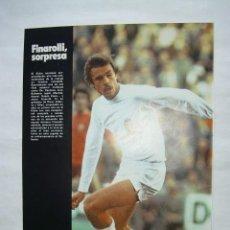 Coleccionismo deportivo: MINI POSTER 20.5 CM X 28 CM REVISTA DON BALON - CORDERO VALENCIA CF - AÑO 1977. Lote 43493902