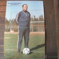 Coleccionismo deportivo: POSTER PASIEGUITO -ENTRENADOR DEL VALENCIA C.F.- AÑO 1979.. Lote 43923147