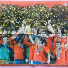 Sammelleidenschaft Sport - DOBLE POSTER GRANDE DAVID VILLA - SELECCION ESPAÑOLA REVISTA TOP FOOT ESPAÑA CAMPEON MUNDIAL 2010 - 44369354