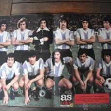 Coleccionismo deportivo: POSTER AS COLOR Nº 148 . ARGENTINA. AÑOS 70´.. Lote 44743721