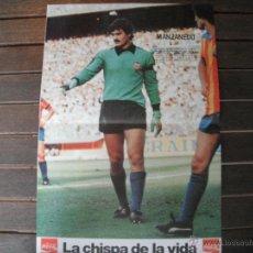 Coleccionismo deportivo: POSTER REVISTA VALENCIA C.F. MANZANEDO. AÑO 1979´.. Lote 44744188