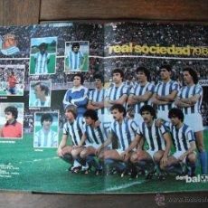 Coleccionismo deportivo: POSTER DON BALON. REAL SOCIEDAD. AÑO 1979-80´.. Lote 44744292