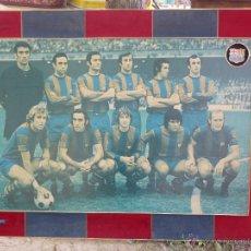 Coleccionismo deportivo: POSTER FOTOGRAFIA DEL FUTBOL CLUB BARCELONA AÑOS 70 . 1973-1974 CAMPEONES DE LIGA.. Lote 45269675