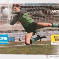 Coleccionismo deportivo: POSTER F. C. BARCELONA ARTOLA ESTRELLA DORADA DANONE. Lote 45574923