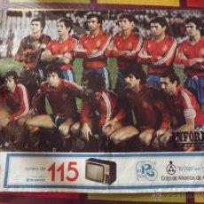 Coleccionismo deportivo: LAMINAS DE LAS SELECCIONES DEL MUNDIAL 82 DE ESPAÑA. Lote 45709024
