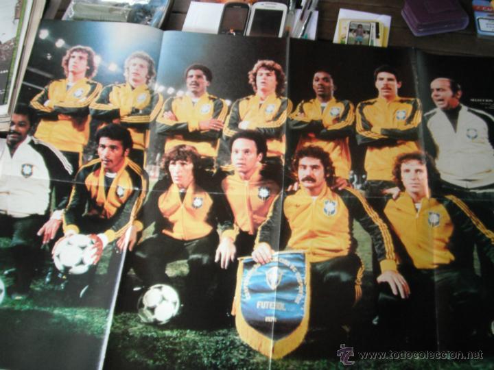 POSTER ONCE. BRASIL. COPA DEL MUNDO ARGENTINA 1978 (Coleccionismo Deportivo - Carteles de Fútbol)