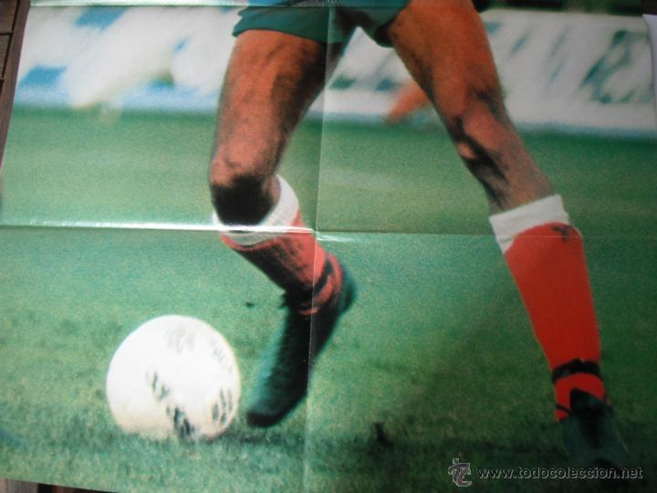 Coleccionismo deportivo: POSTER ONCE. BRASIL. COPA DEL MUNDO ARGENTINA 1978 - Foto 4 - 45999053