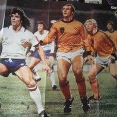 Coleccionismo deportivo: POSTER ONZE. KEEGAN Y NEESKENS. 1978. Lote 45999094