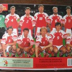 Coleccionismo deportivo: POSTER DINAMARCA. CAMPEONA DE EUROPA 1992. . Lote 45999300