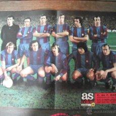 Coleccionismo deportivo: POSTER AS COLOR Nº 149. C.F.BARCELONA. CAMPEON DE LIGA 1973-74.. Lote 45999392