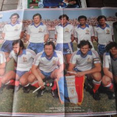 Coleccionismo deportivo: POSTER ONZE. FRANCIA.1980.. Lote 46380482